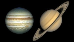 Jupiter Saturn: The Great Conjunction and the Coronavirus